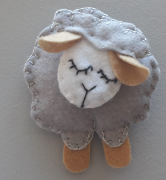 Sheep themed mobile picture