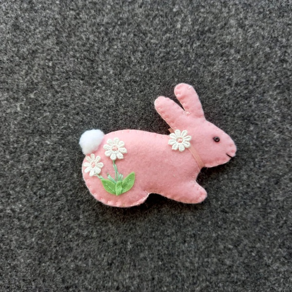 Bunny themed mobile picture