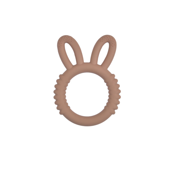 Silicone bunny teether picture