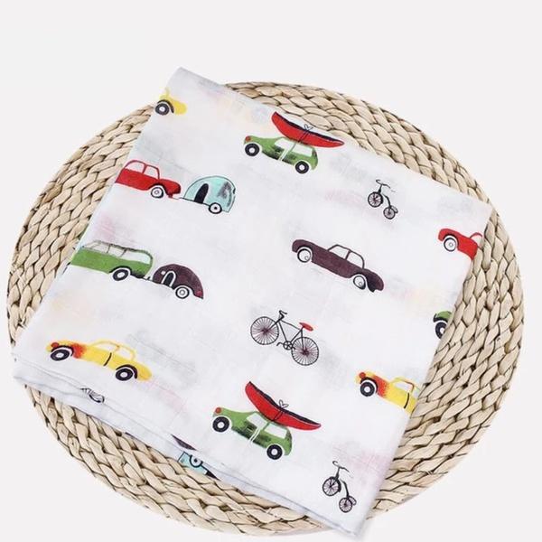 Car muslin blanket picture