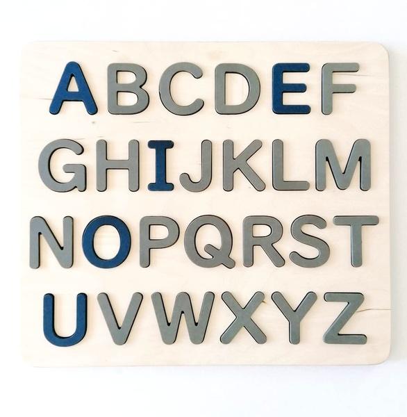 Alphabet  puzzle picture