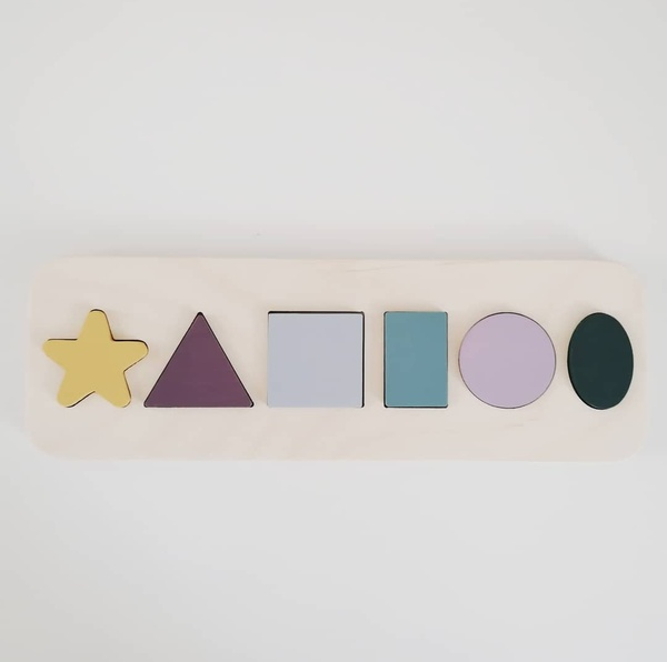 Shape puzzle picture