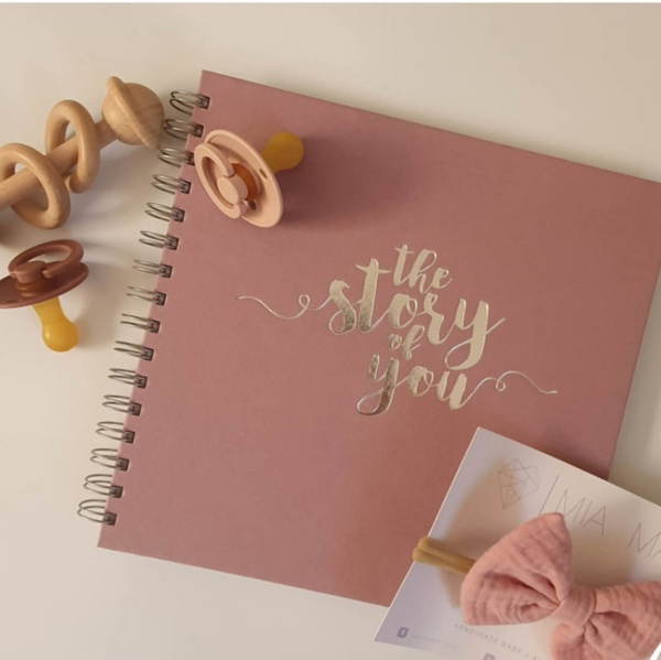 Limited edition dusty pink journal picture