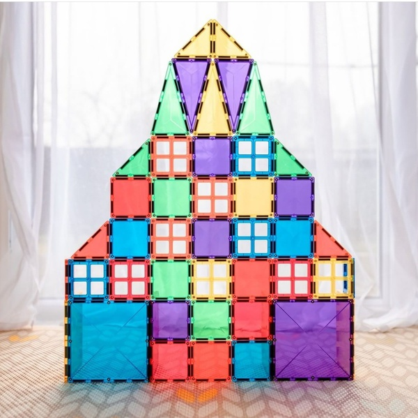 Connetix tiles 62 pieces picture