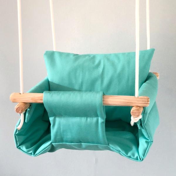 Assorted plain colour swings picture
