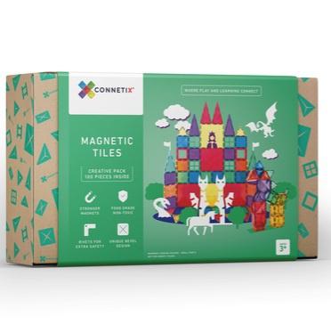 Connetix tiles 100 pieces picture