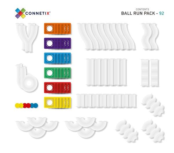 Connetix tiles 92 piece (ball run) picture