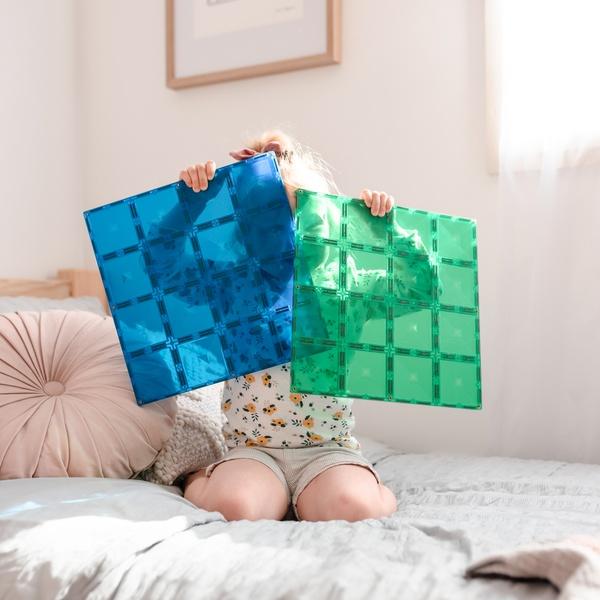 Connetix tiles two piece plate picture