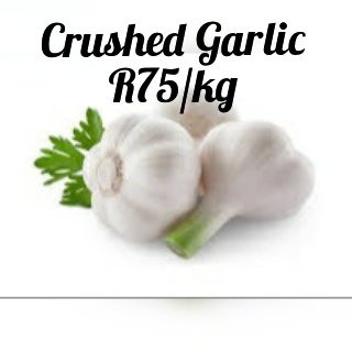 Crushed garlic picture