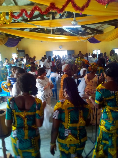 First Sunday service of the year (2020) at Liberation Power Chapel. picture