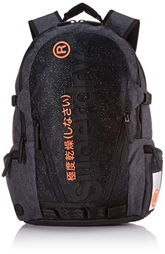 Superdry double marl tarp rucksack m9100010a uni dark grey picture
