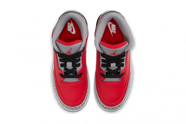 Air jordan 3 se pre school - 'red cement' picture