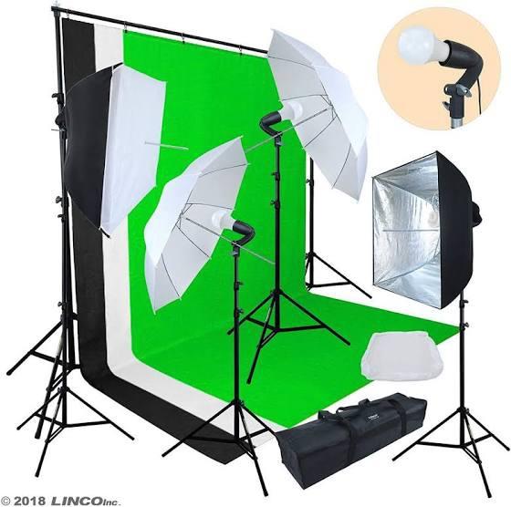 Linco lincostore photo video studio light kit am174 picture