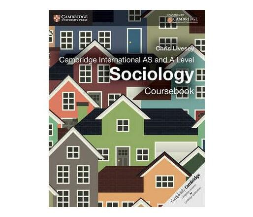 Cambridge international as and a level sociology coursebook picture