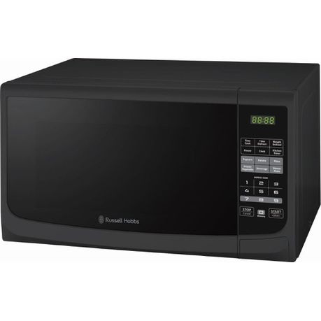 Russell hobbs black electronic microwave - 28 litre picture
