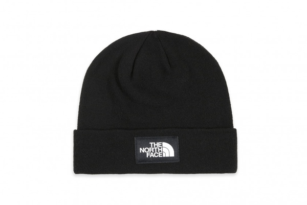 The north face dock worker recycled beanie - black picture