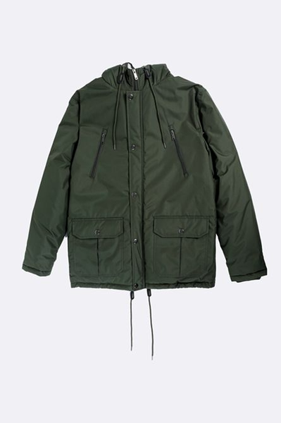 Padded parka jacket picture