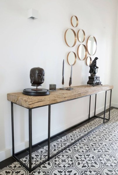Quality steel and wood furniture picture