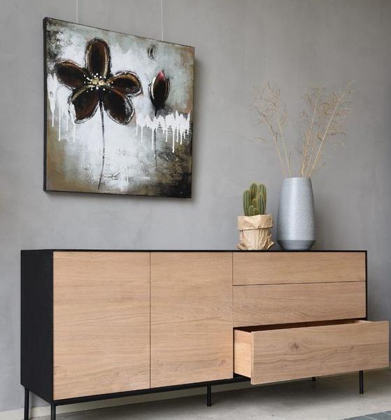Scandinavian style side board picture