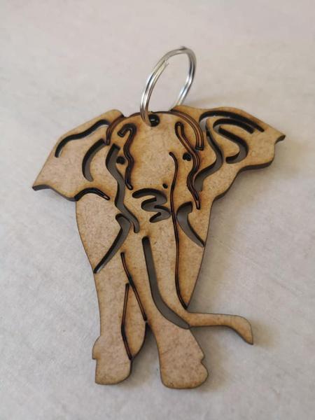 Elephant keyring picture