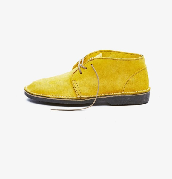 𝐓𝐡𝐞 𝐋𝐞𝐠𝐞𝐧𝐝 - suede high cut velskoen - orchard yellow picture