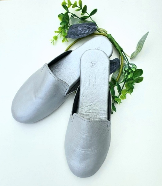 Kylie slip-on mules (metallic colours) picture