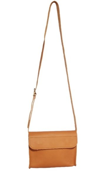 Proto leather bag with bow - small picture