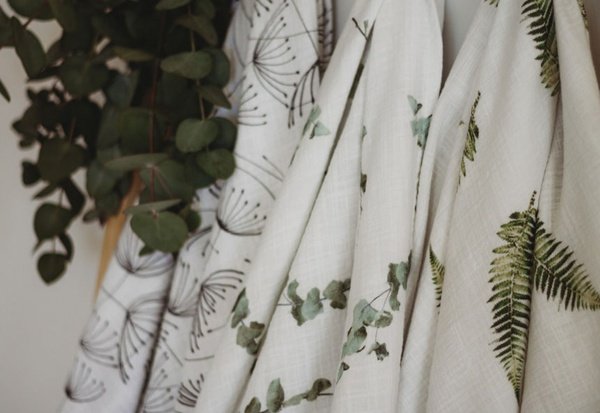 Muslin swaddle - double picture