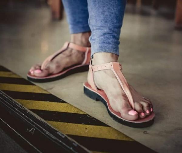 Hettie leather sandals picture