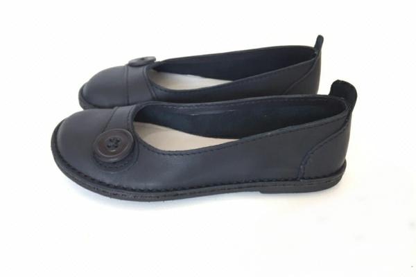 Zuri ballerina shoes - tuxedo (black) picture