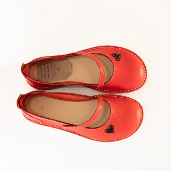 Zuri ballerina shoes - postbox (red) picture