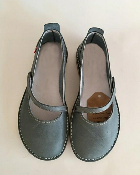 Zuri ballerina shoes - storm (grey/blue) picture