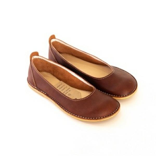 Zuri ballerina shoes - duke (brown) picture