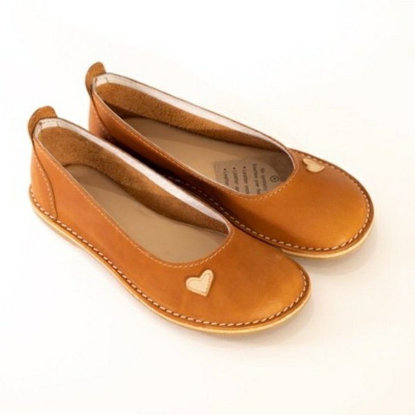 Zuri ballerina shoes - namib (tan) picture