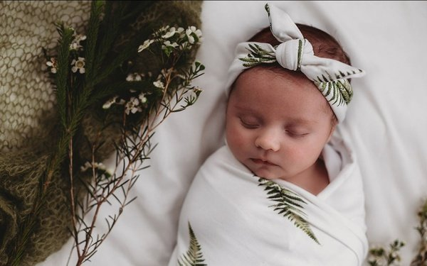 "Swaddle set ""fern"" - 3 to 6 months picture"