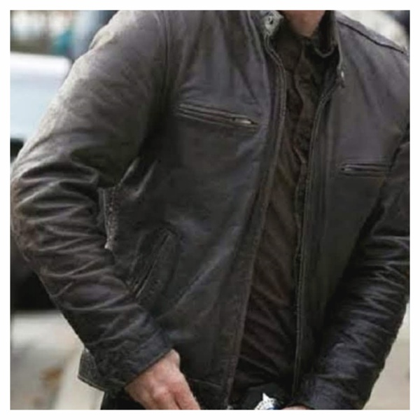 Mens leather jacket - chicago pd picture