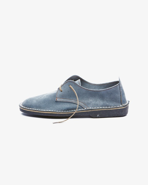 𝐓𝐡𝐞 𝐋𝐞𝐠𝐞𝐧𝐝 - suede low cut velskoen - grey picture
