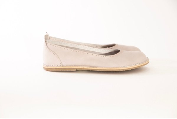 Zuri ballerina shoes - dove (off-white) picture