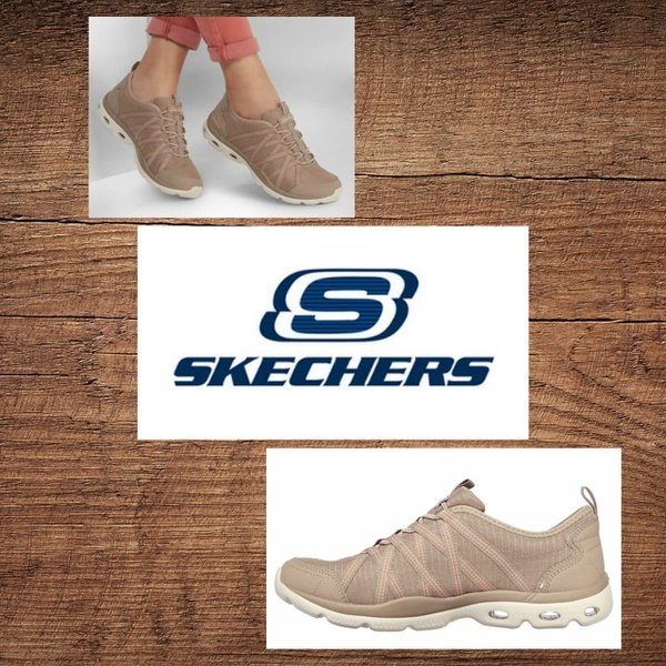 Skechers 100250 glide step beyond taupe picture