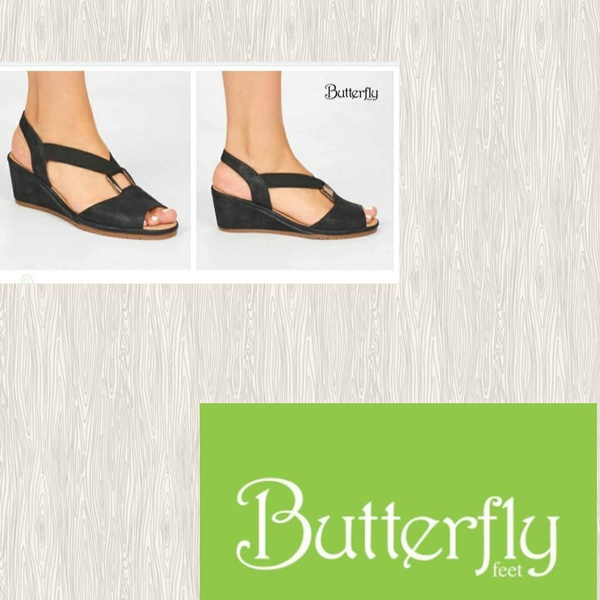 Butterfly feet enos picture