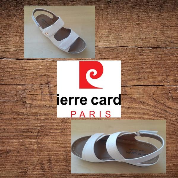 Pierre cardin 1257 white sandal picture