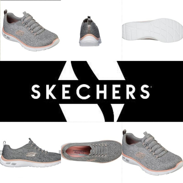 Skechers empire dlux lively wind 12824 gray/coral picture