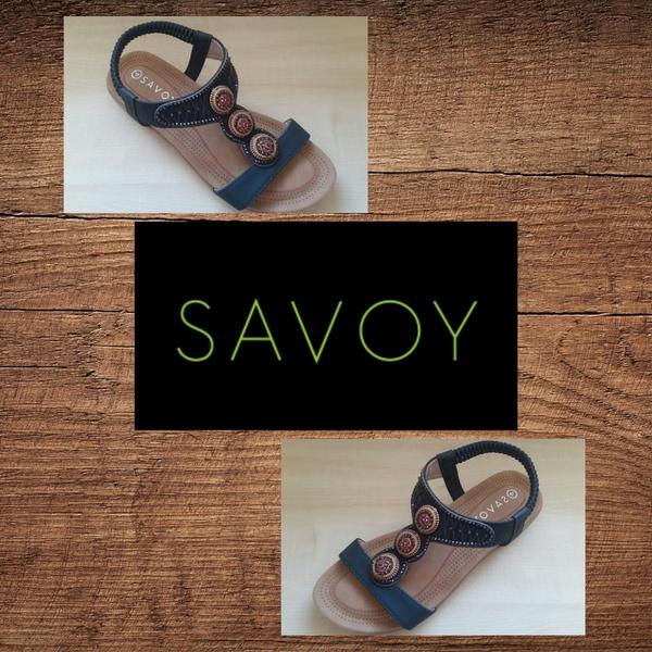 Savoy lqk 128a black sandal picture