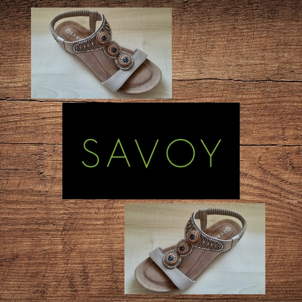 Savoy lqk 128a taupe sandal picture