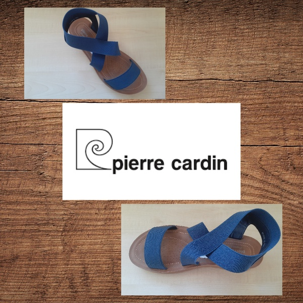 Pierre cardin 1309 navy sandal picture