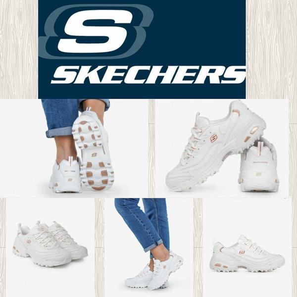 Skechers  fresh start 11931 d'lites  white/rose gold picture