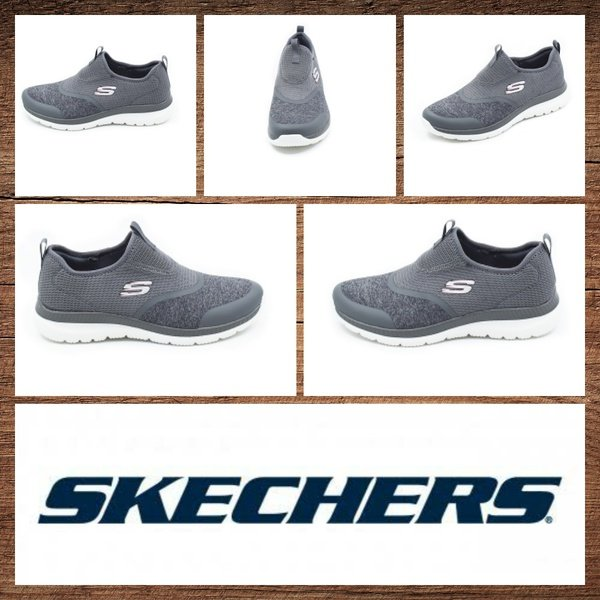 Skechers 149222 bountiful lively step gray picture
