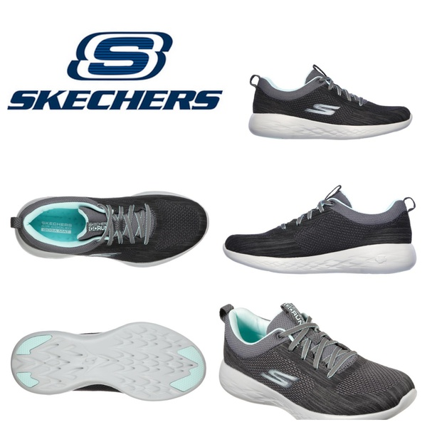 Skechers 15144 go run 600 - nimble charcoal/blue picture