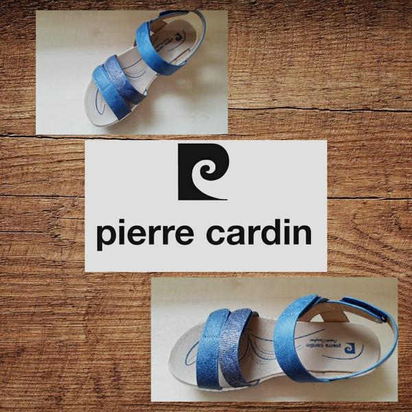 Pierre cardin 1562 navy sandal picture