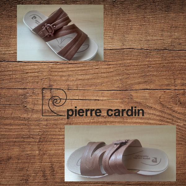 Pierre cardin 1564 taupe sandal picture